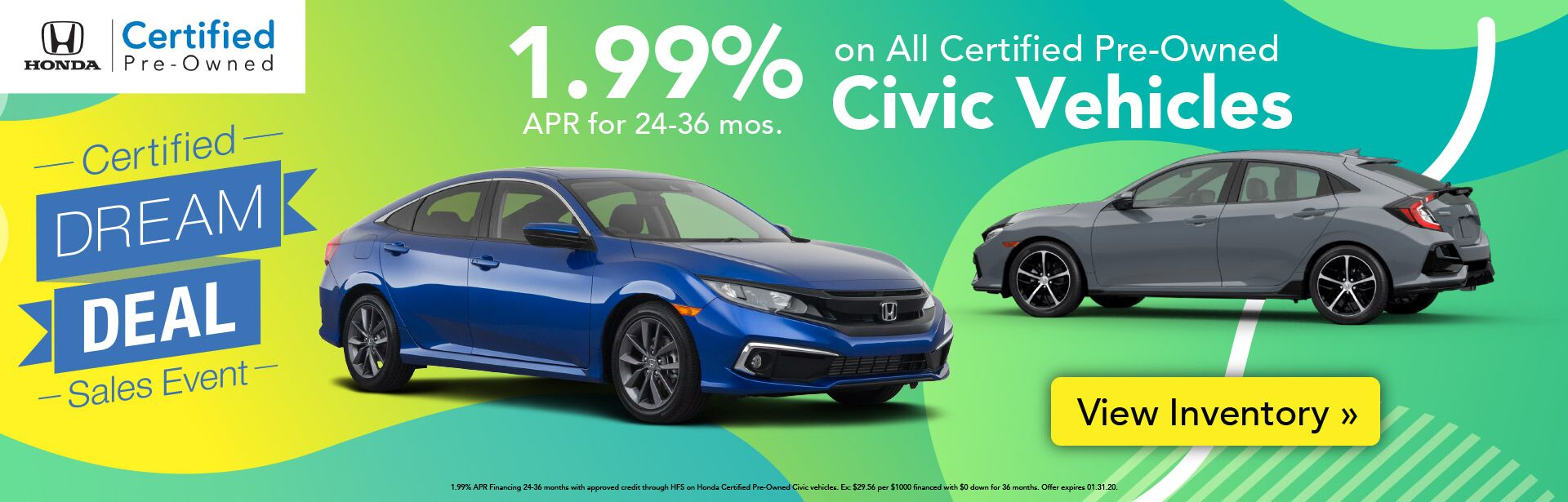 Certified Pre-Owned Civic