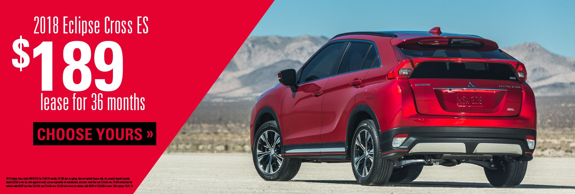 Eclipse Cross Lease