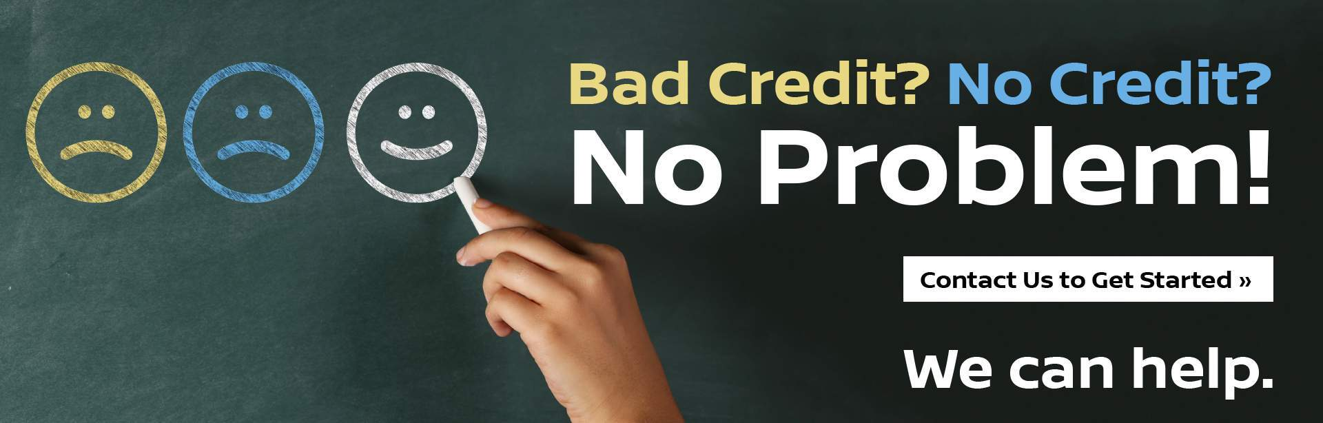 Nissan Bad Credit No Credit