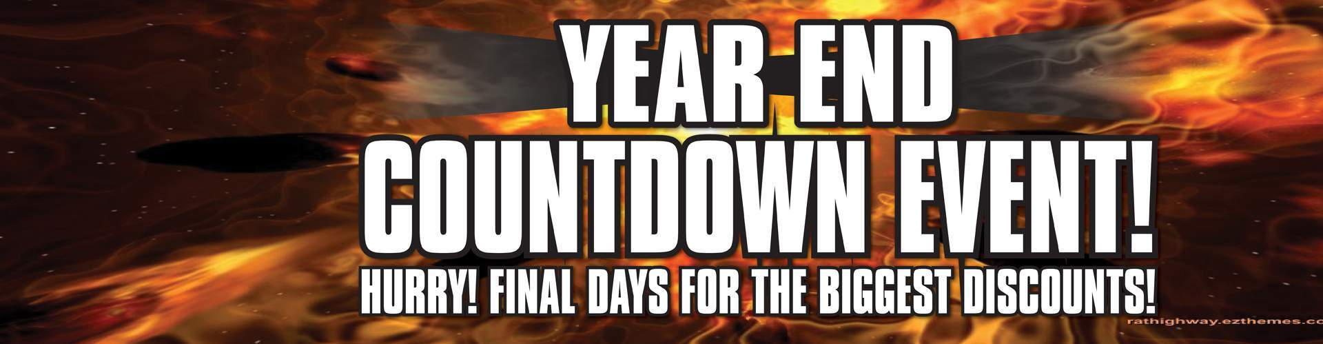 Year End Countdown Event!