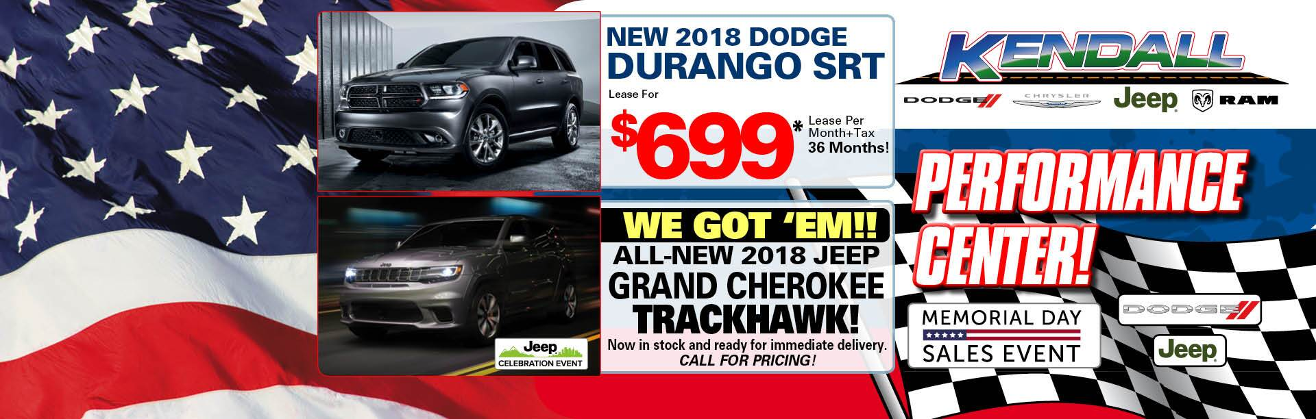 Dodge Performance Center - Durango/TrackHawk