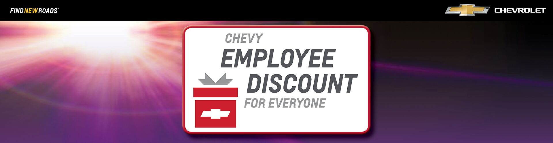 Chevrolet - Employee Pricing For Everyone!