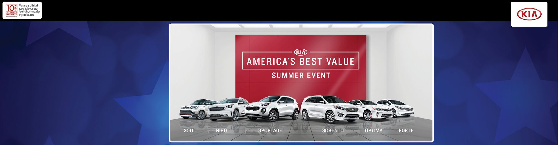 KIA - America's Best Savings!