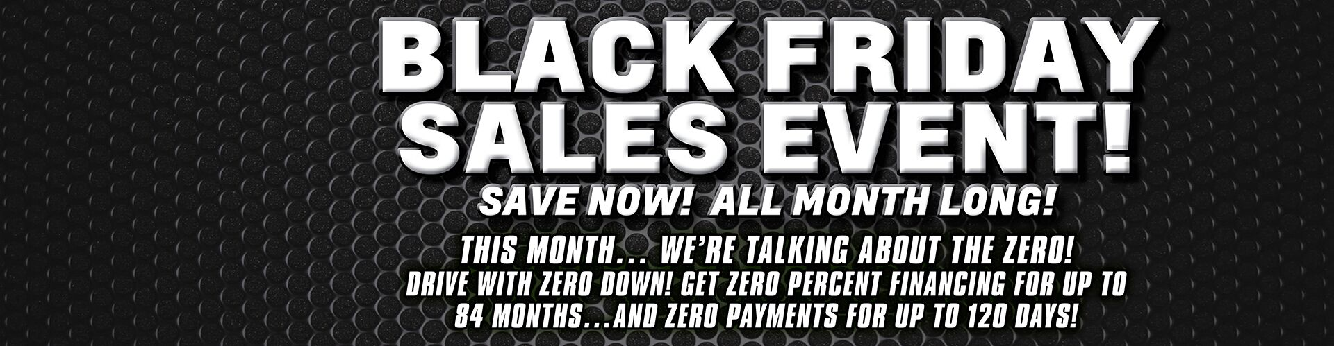 The Black Friday Sales Event!