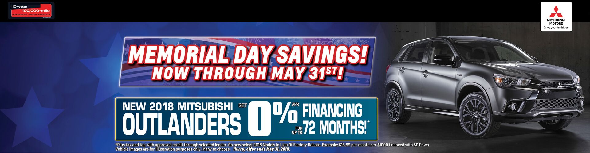 Outlanders! 0% apr Financing Up To 72 Months!