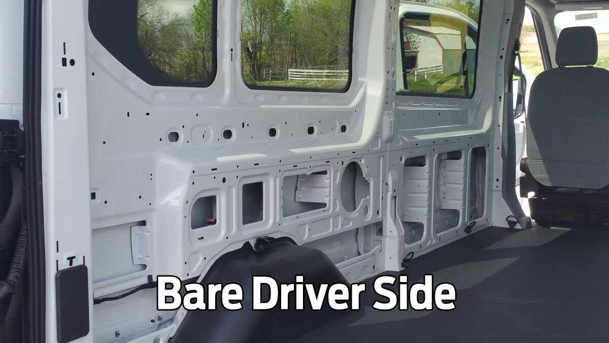 Bare Driver Side