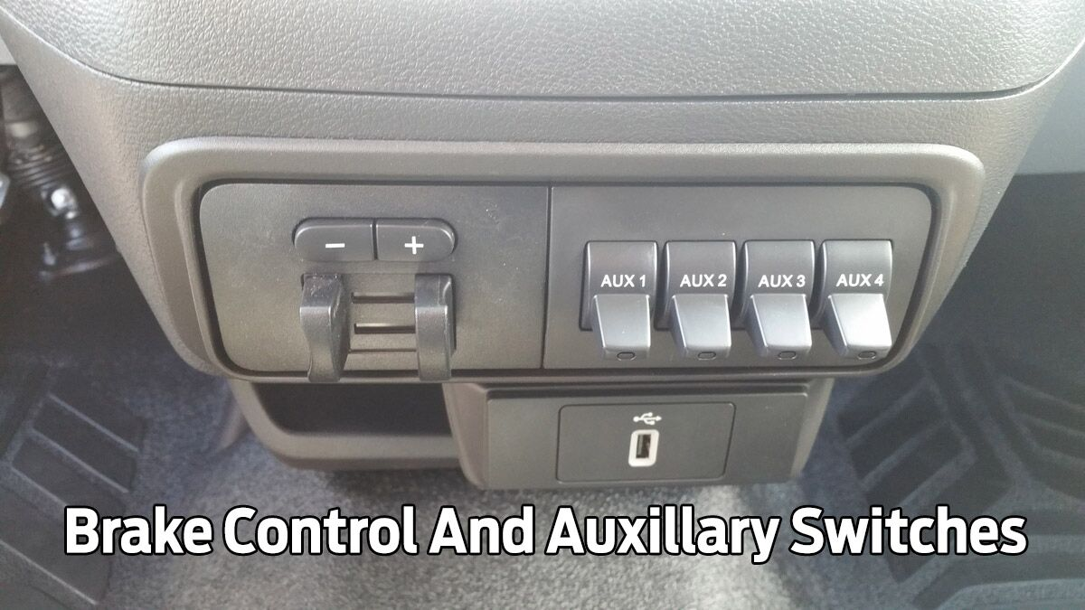 Brake Control And Auxillary Switches