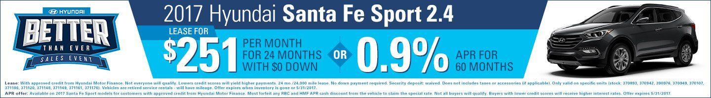 May Santa Fe Sport Special