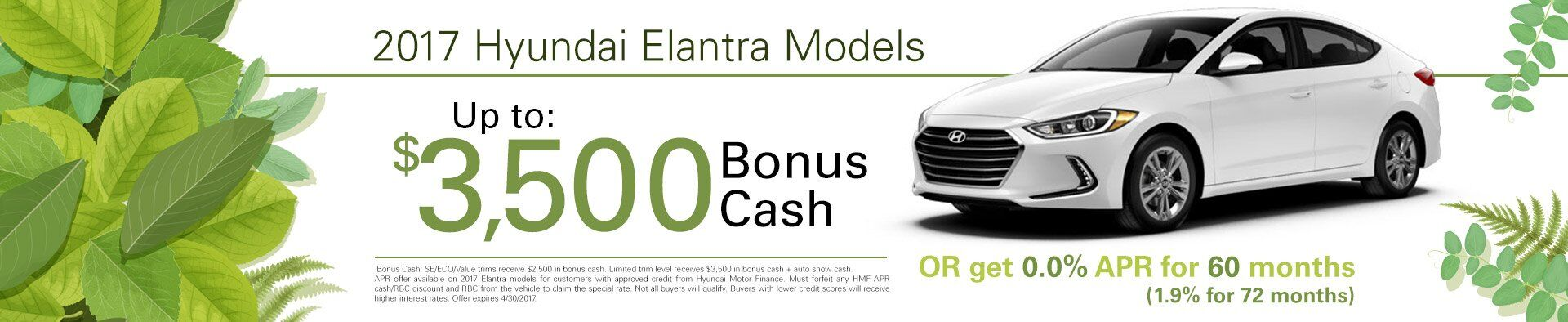 Elantra Additional Offers