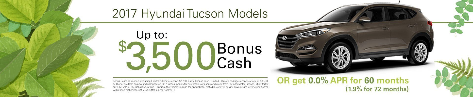 Tucson Additional Offers