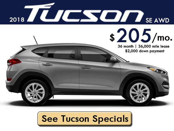 September Tucson Lease Special