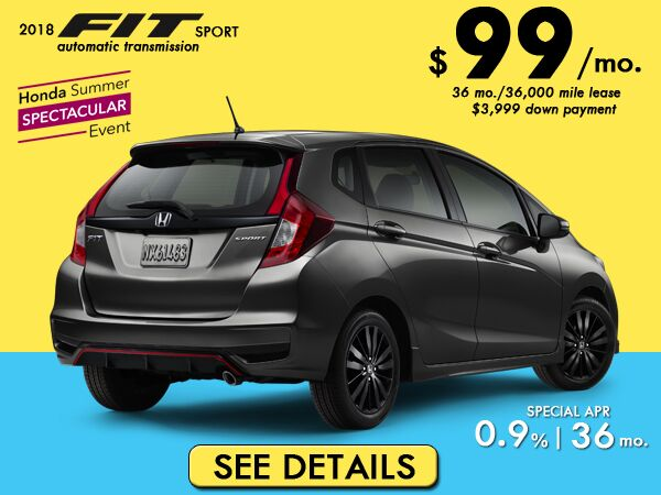 Low Payments On Honda Fit: $129
