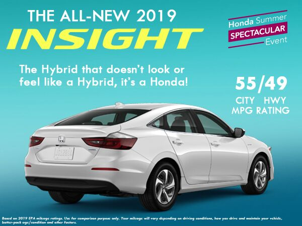 All New 2019 Honda Insight