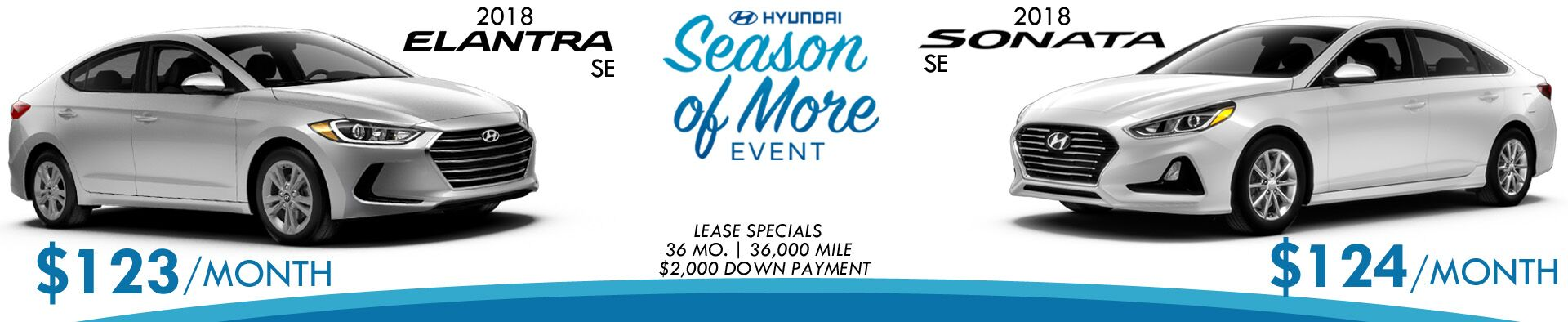 March Elantra and Sonata Specials