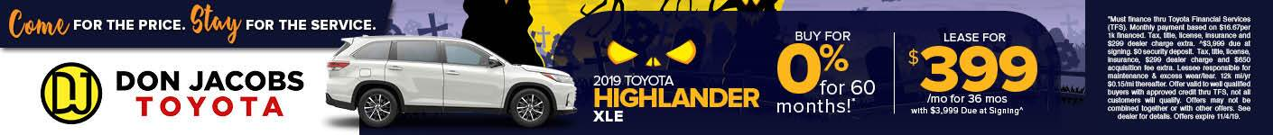 October 2019 Highlander