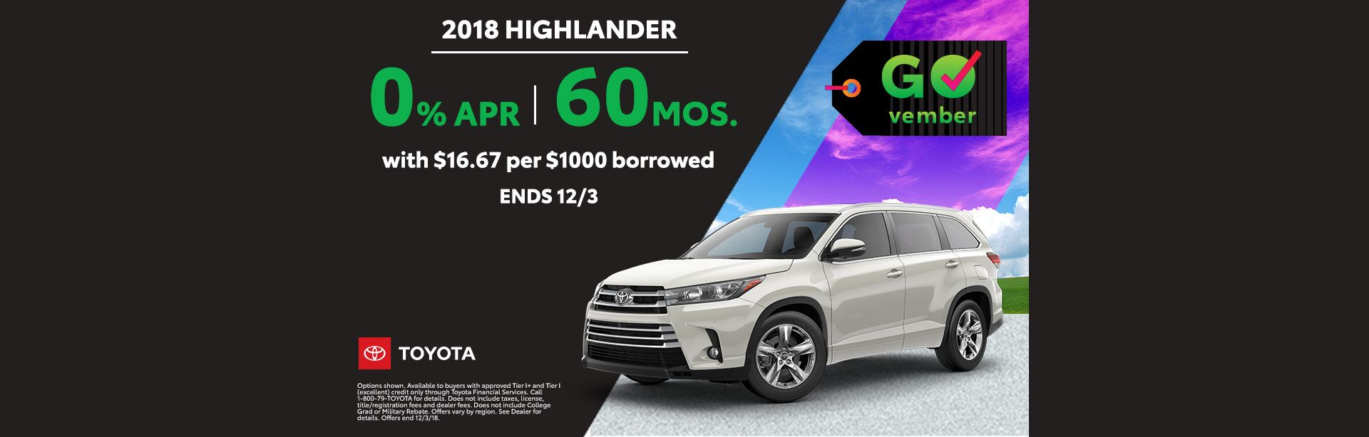 GOvember Highlander Nov 2018