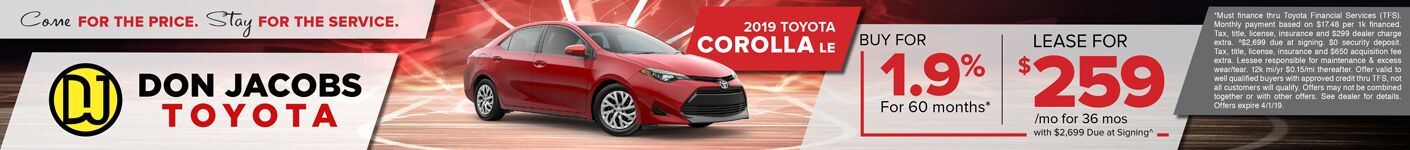 March Corolla SRP