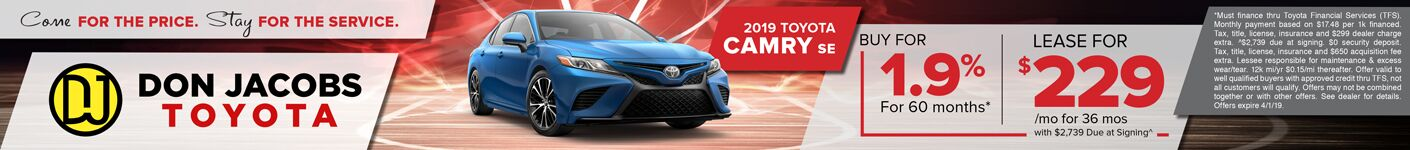 March Camry SRP