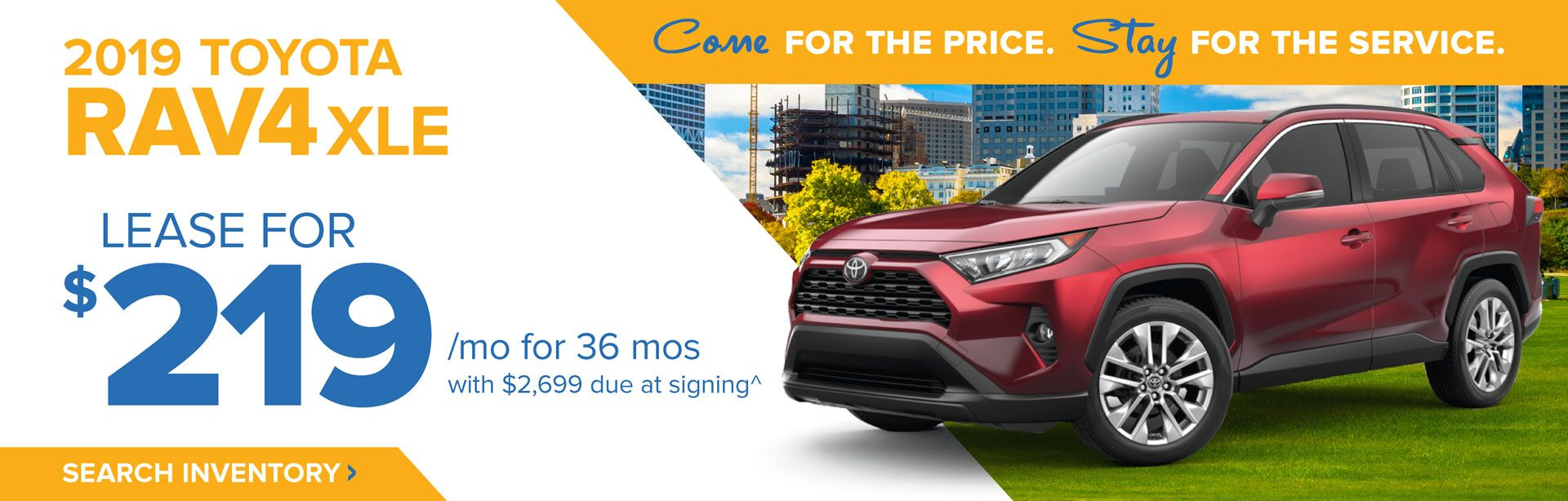 June RAV4 HP Banner