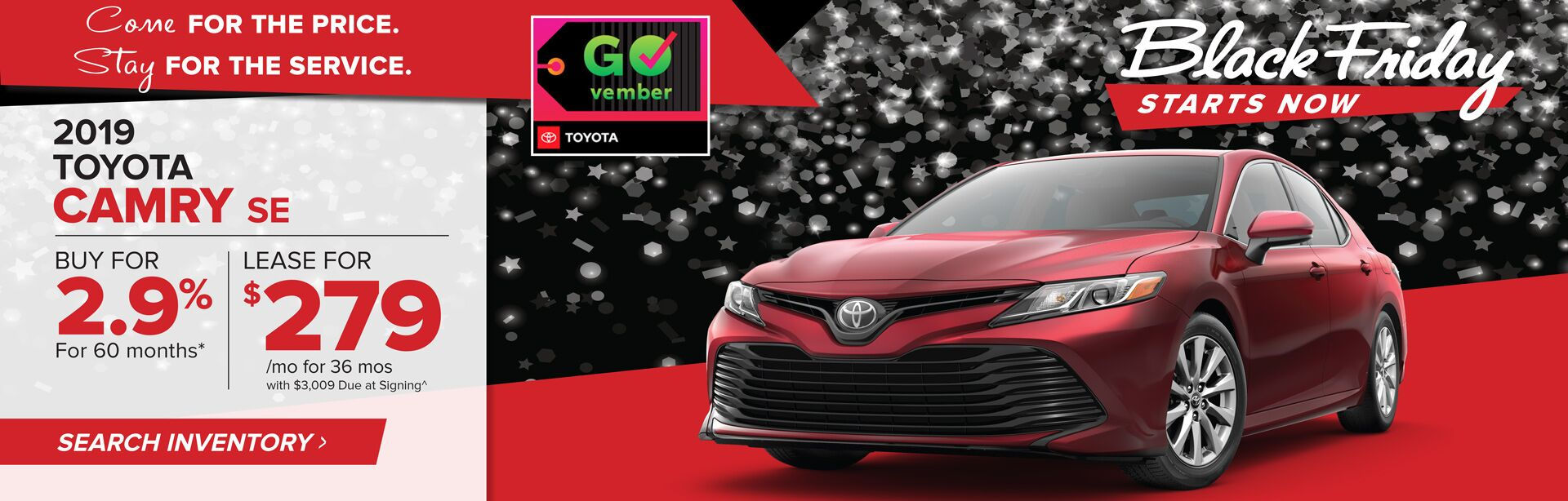 November Camry HP