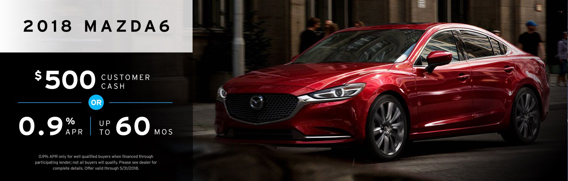 2018 Mazda6 May Offer