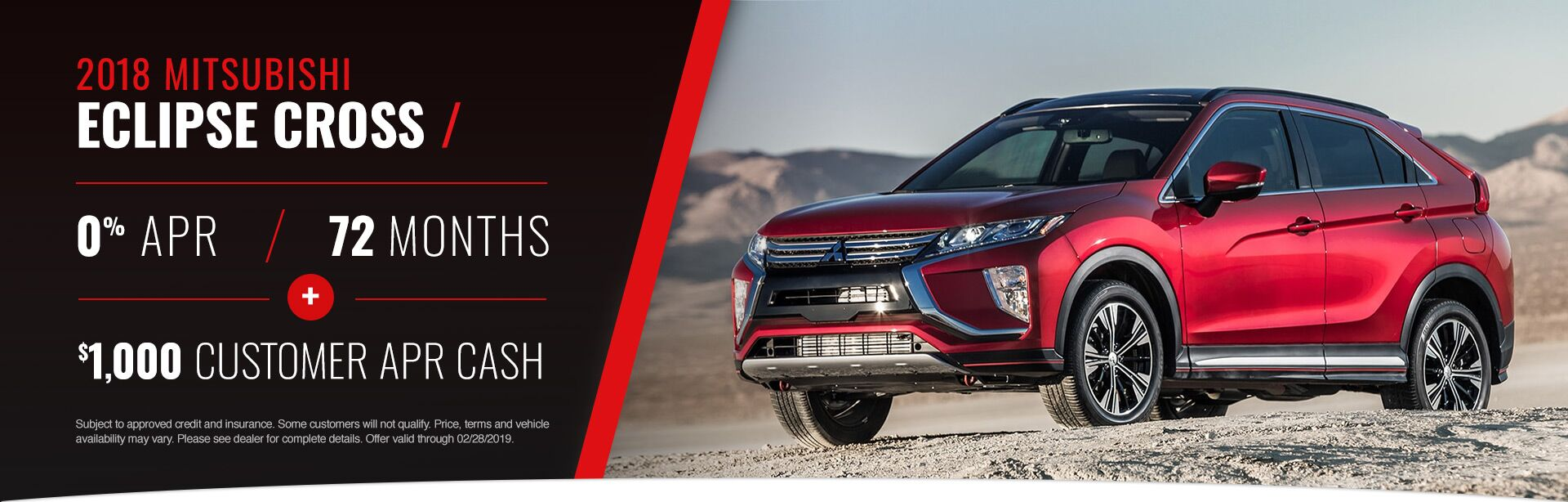 2019 February Eclipse Cross Offer