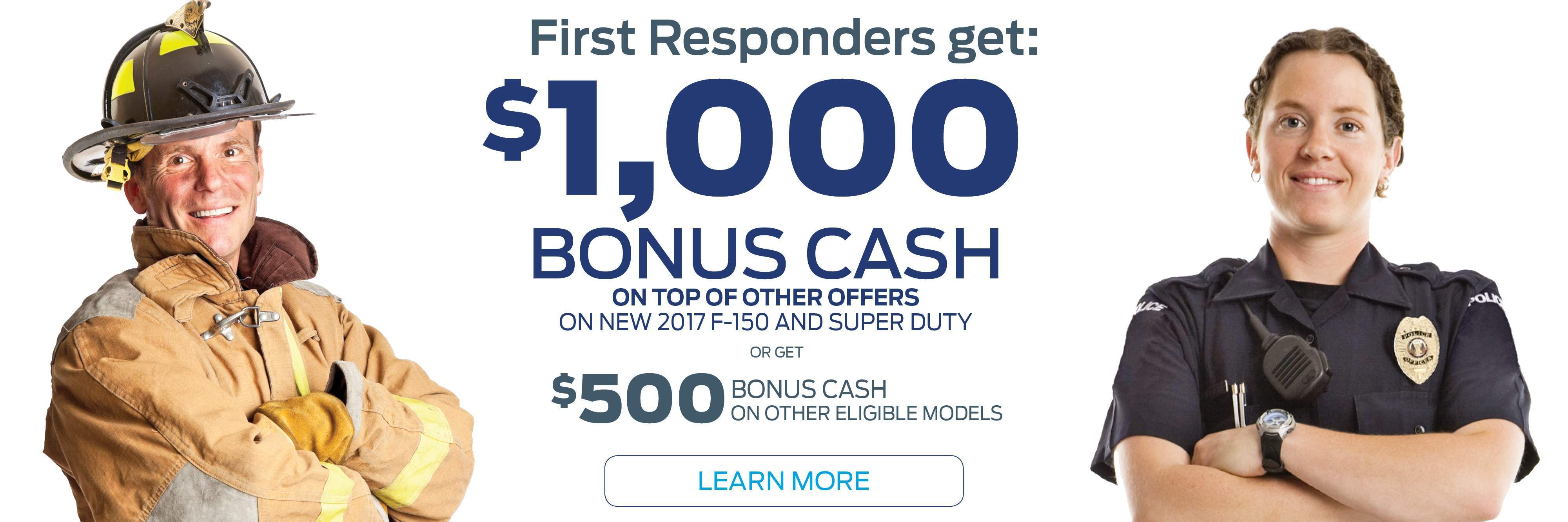 First Responders  sc 1 th 129 & Holiday Ford Fond du Lac | Used Cars Fond du Lac WI | Wisconsin ... markmcfarlin.com