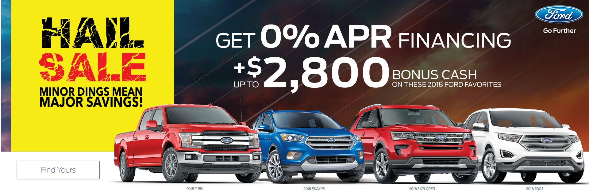 Great offers on new Fords at Holiday Automotive in Fond du Lac, WI