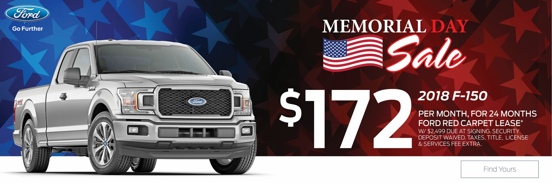 Lease a Ford F-150 at Holiday Ford in Fond du Lac, WI