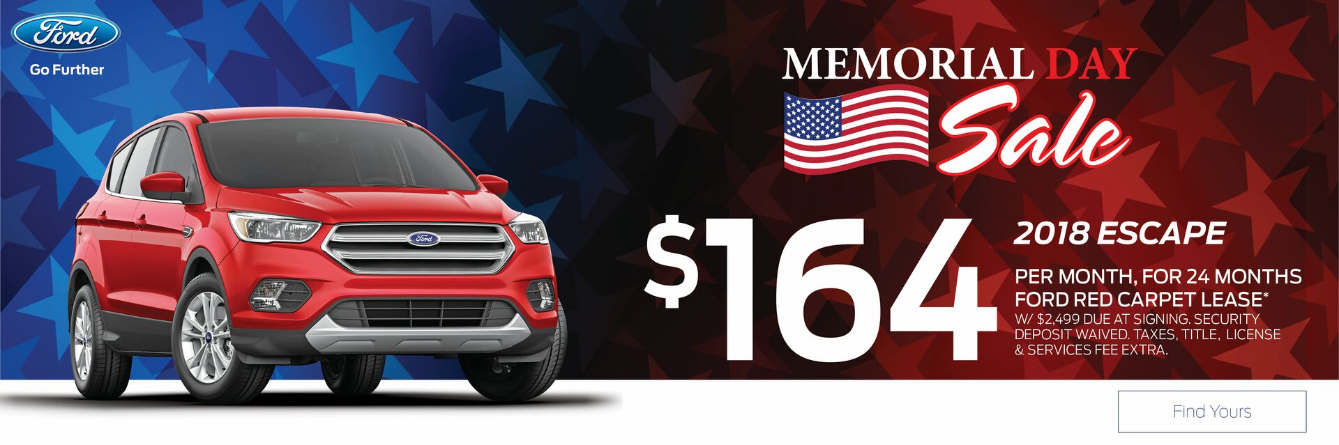 Lease a Ford Escape at Holiday Ford in Fond du Lac, WI