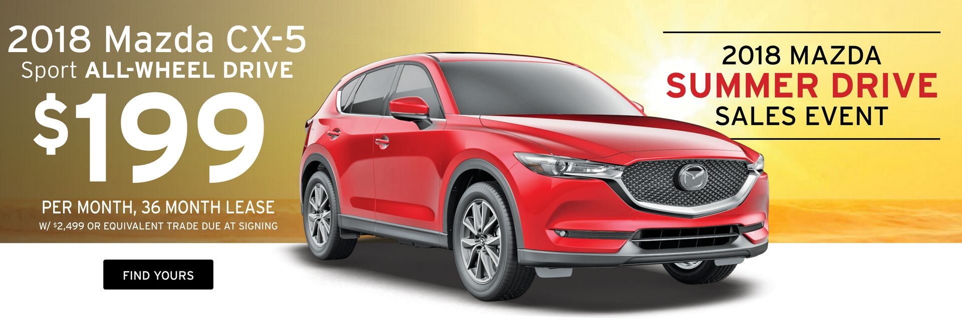 Lease a Mazda CX-5 at Holiday Mazda in Fond du Lac, WI