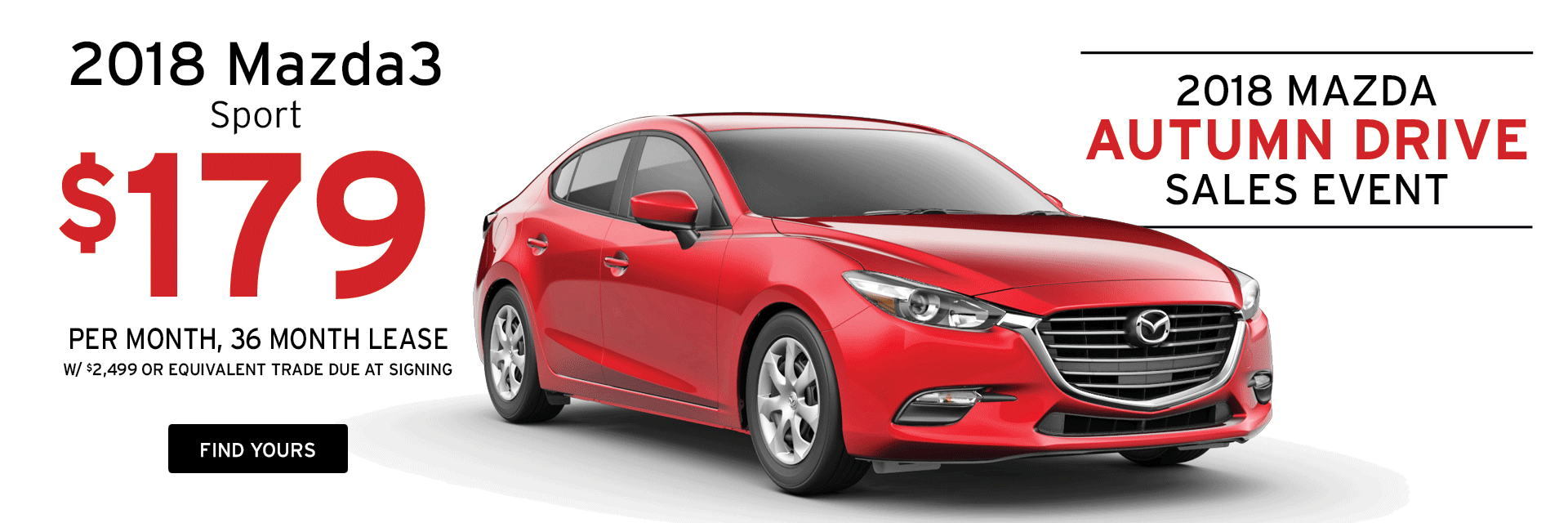 Lease a Mazda3 at Holiday Mazda in Fond du Lac, WI
