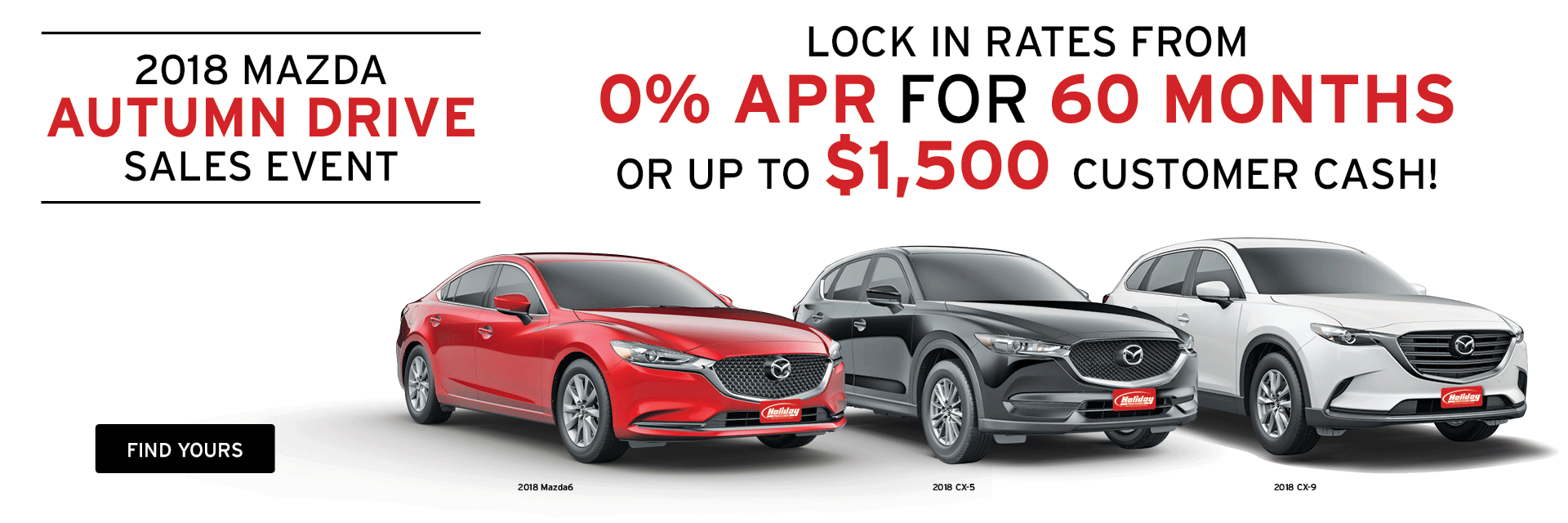 Great offers on Mazda at Holiday Mazda in Fond du Lac, WI