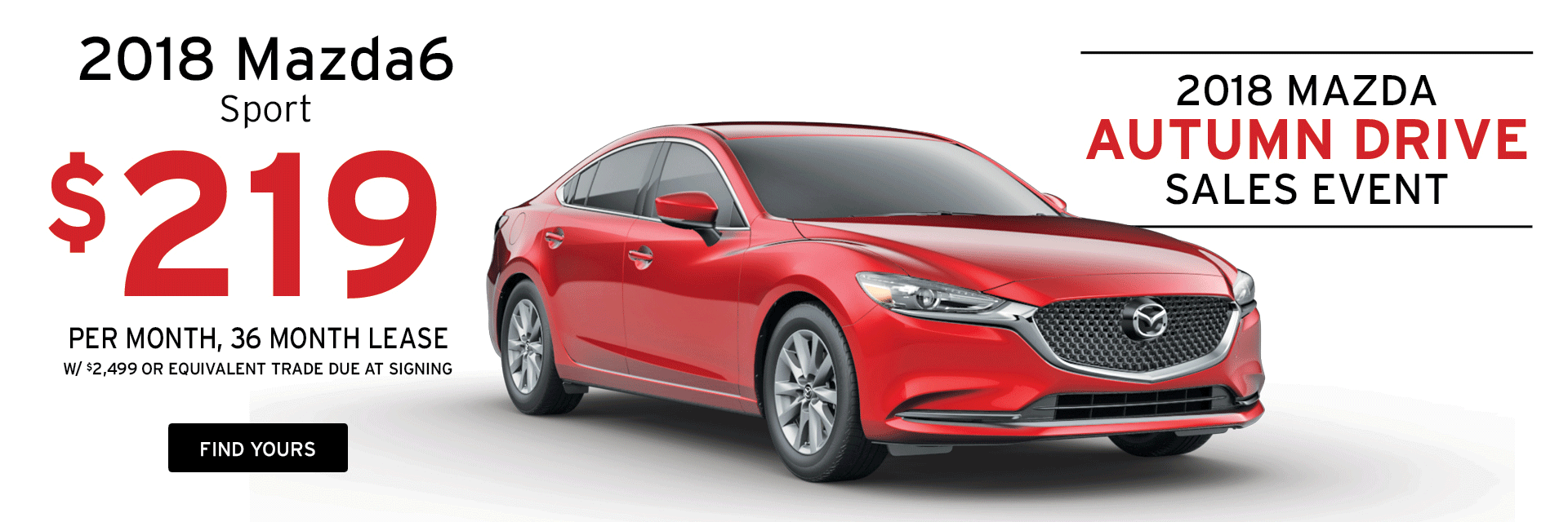 Lease a Mazda6 at Holiday Mazda in Fond du Lac, WI