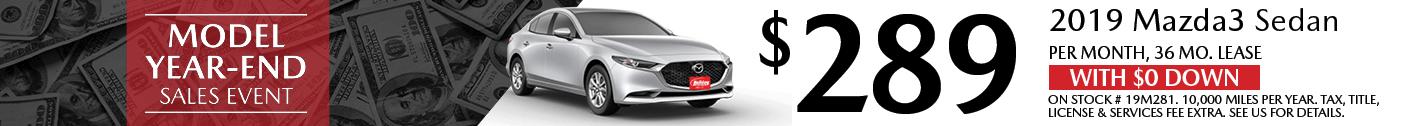 Model Mazda3