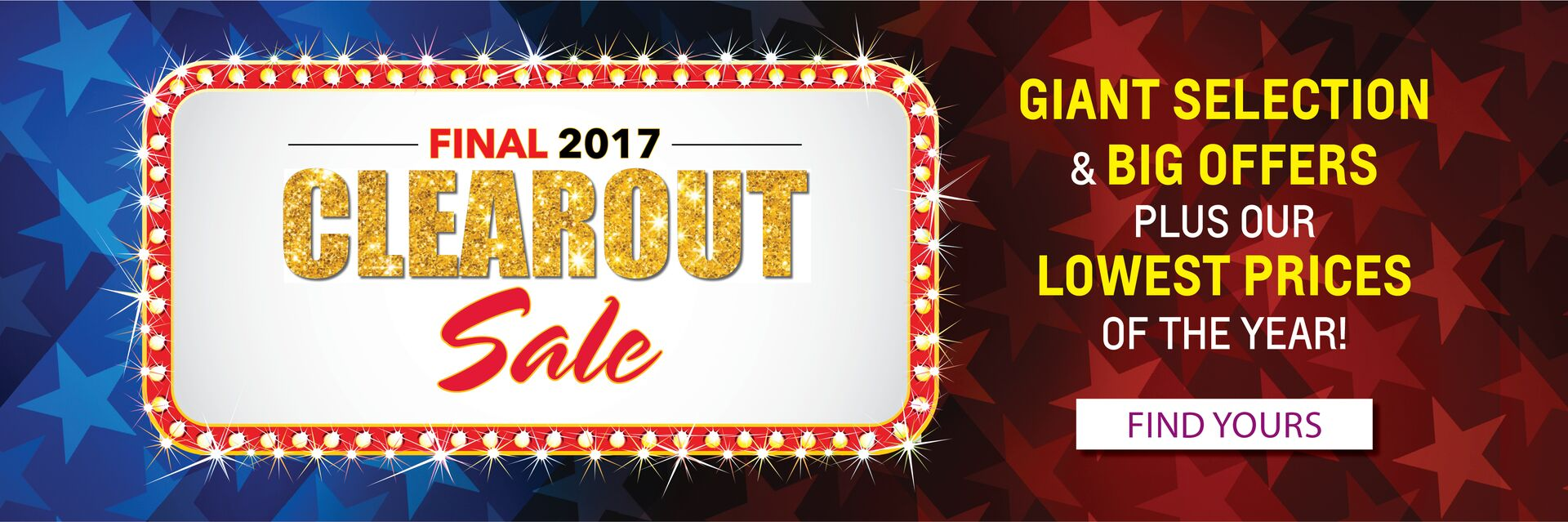 Final 2017 Clearout Sale at Holiday Ford in Fond du Lac, WI