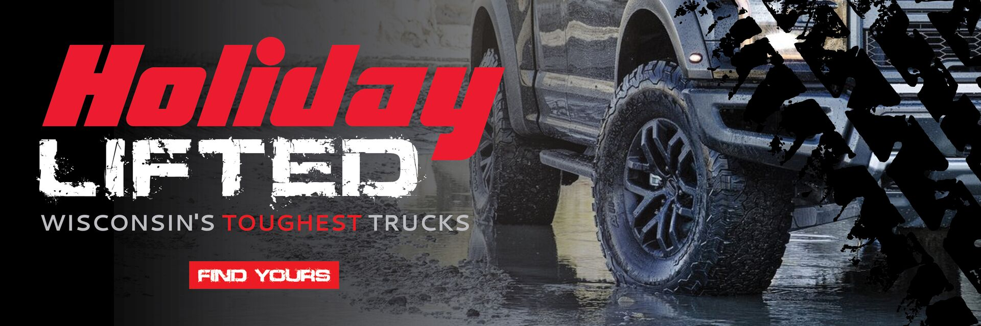 Custom Lifted Trucks at Holiday Automotive in Fond du Lac, WI
