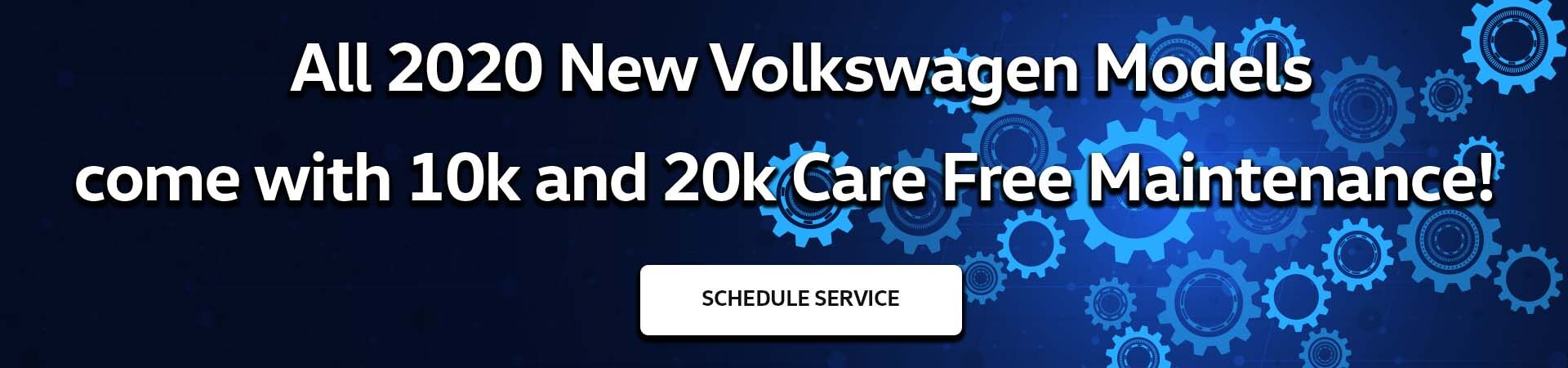 Volkswagen Care Free Maintenance Slide