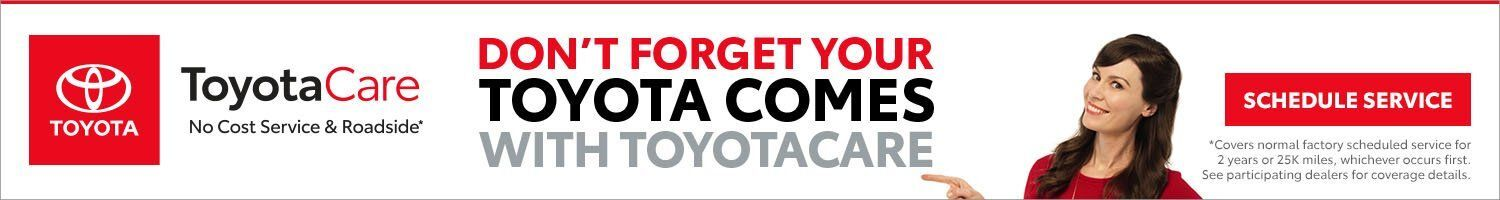 NAT Toyotacare offer
