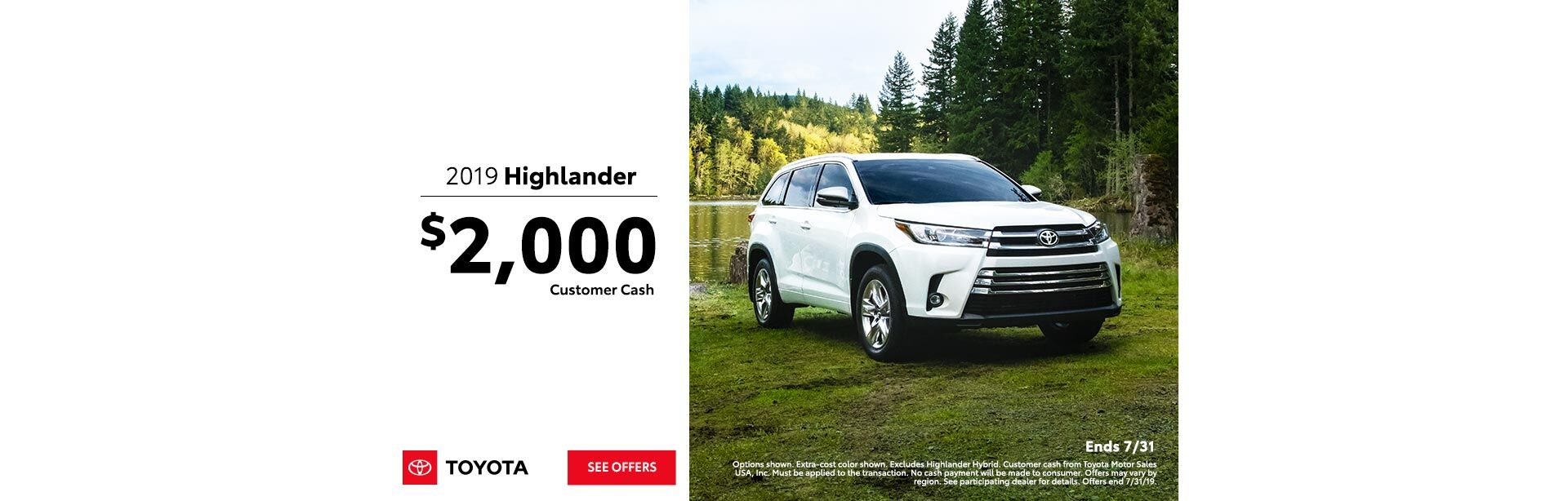 Highlander Offer