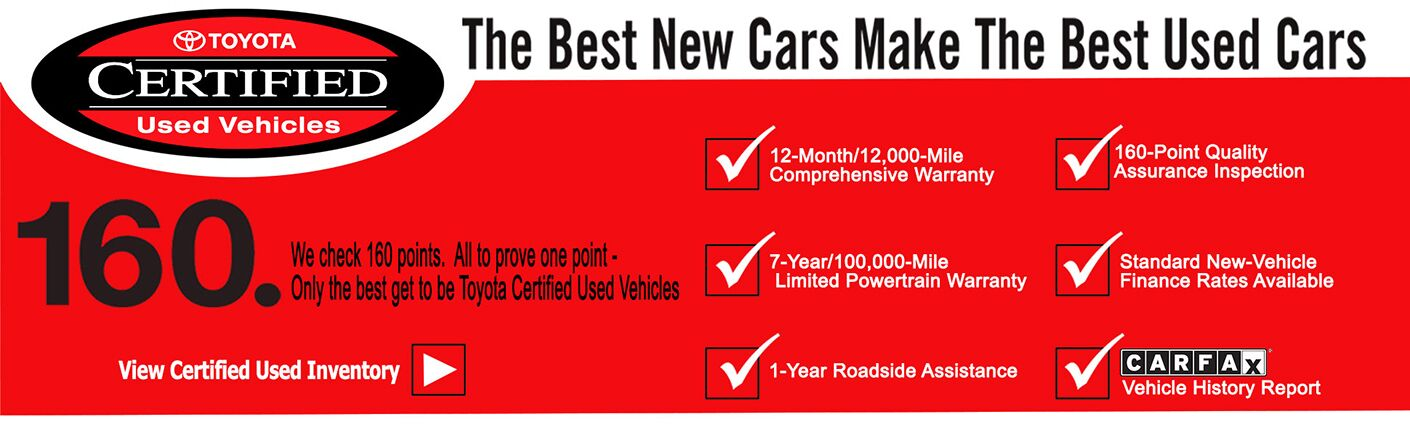Toyota Certified Pre Owned >> Toyota Certified Used Vehicles Palatine Il