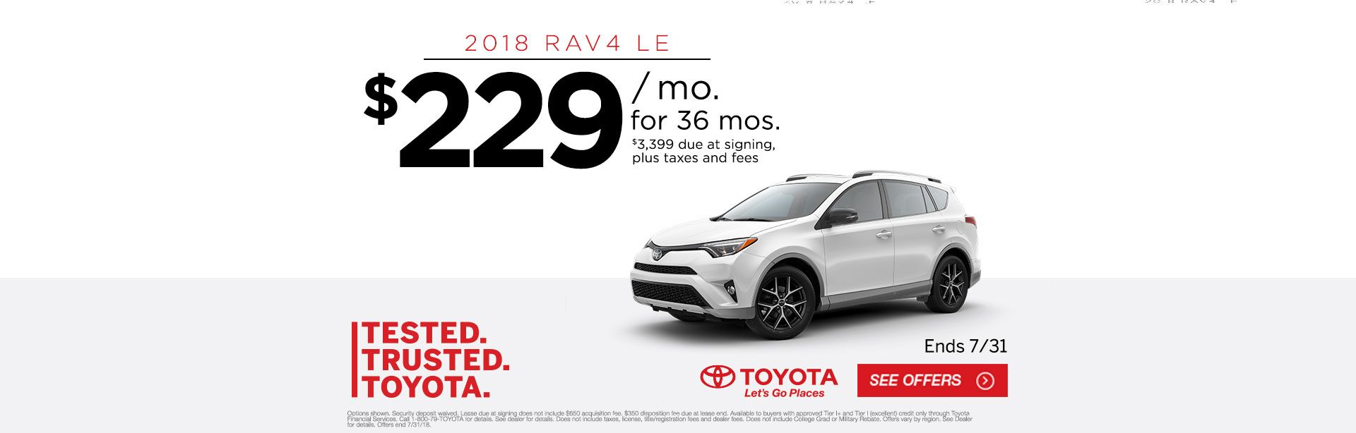 CHI - Toyota Tested Trusted RAV4 Lease
