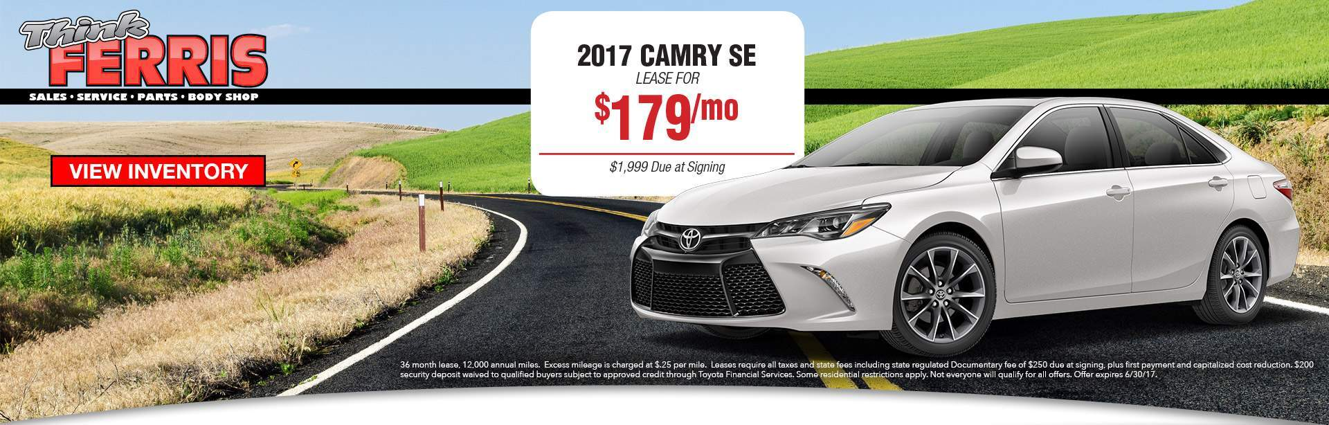 Camry Lease Pricing