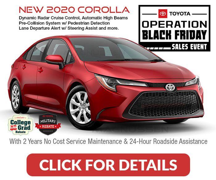 Toyota Black Friday Deals