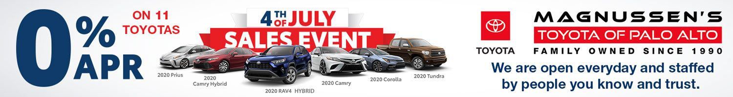0% Toyota Financing Deals