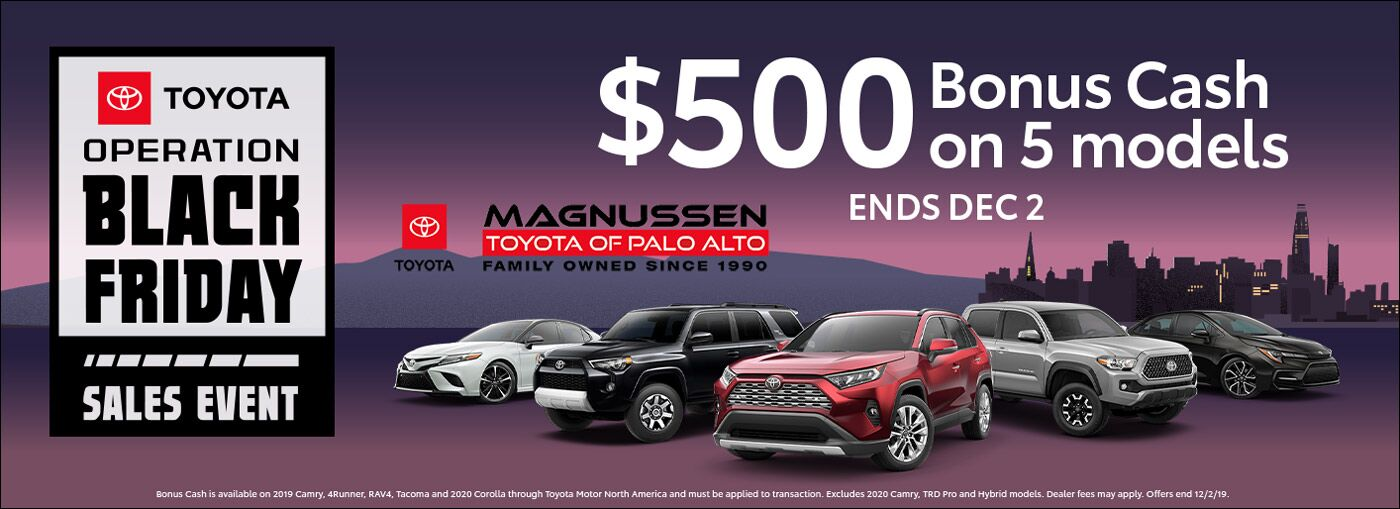 Toyota Black Friday Sale