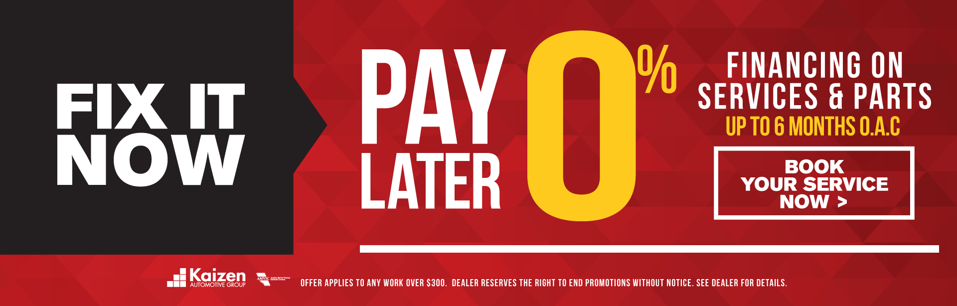 Pay Later 0%