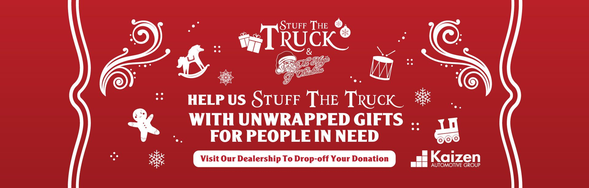 Help Us Stuff the Truck with Magic of Christmas!