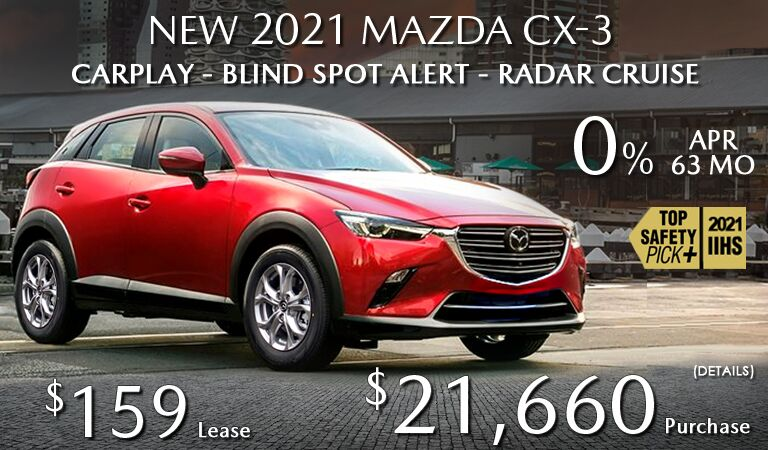 2021 MAZDA CX-3 - MORE STANDARD FEATURES