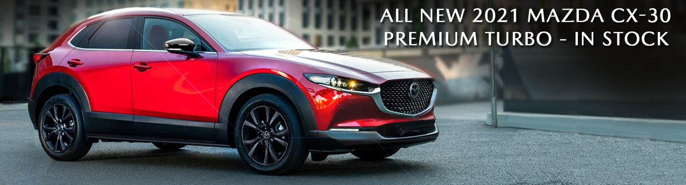 2021 MAZDA CX-30 PREMIUM TURBO - IN STOCK